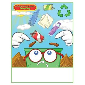 Recycling - Imprintable Coloring & Activity Book