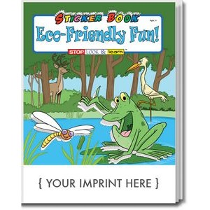 Eco-Friendly Fun Sticker Book