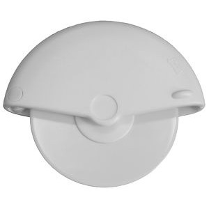 5 inch White Pizza Wheel Cutter with Polystyrene Blade